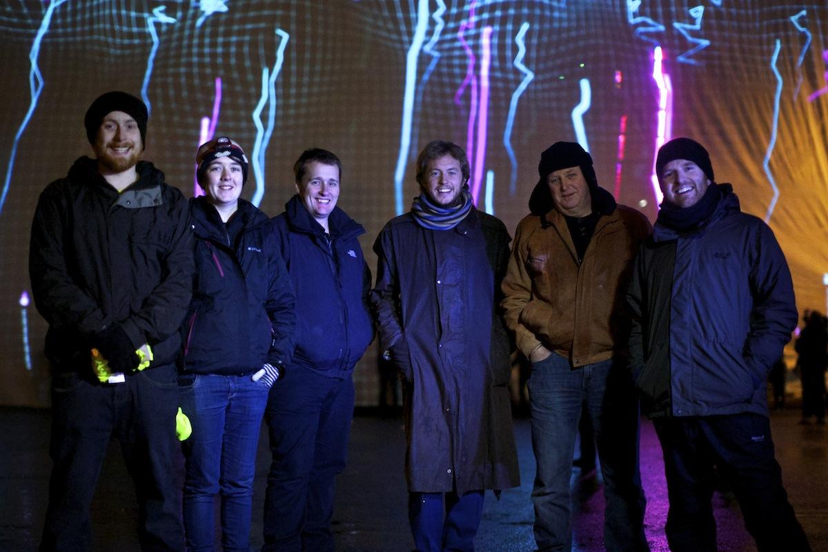 PixelPyros crew Huddersfield