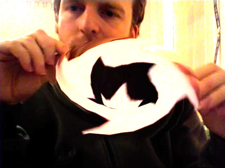 Papervision3D wormhole in your webcam