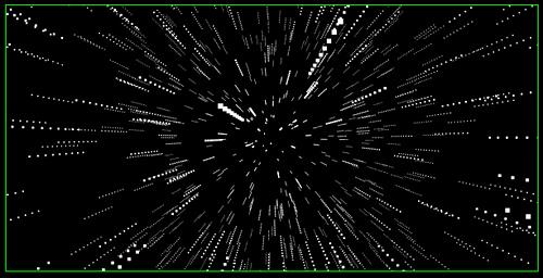 HTML5 starfield
