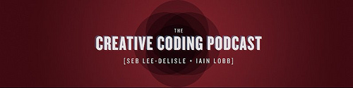 Creative Coding Podcast Masthead